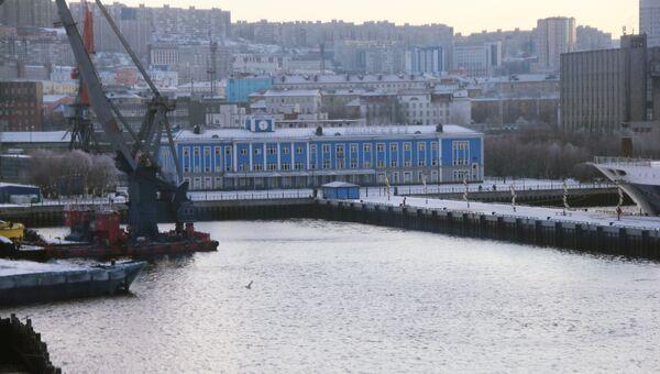 Порт города Владивосток. Архивное фото