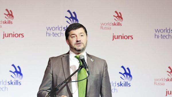 Генеральный директор Союза Молодые профессионалы (WorldSkills Russia) Роберт Уразов