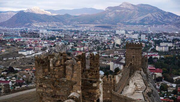 Генуэзская крепость в Крыму. Архивное фото