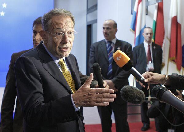 Верховный представитель ЕС по общей внешней политике и безопасности Хавьер Солана
