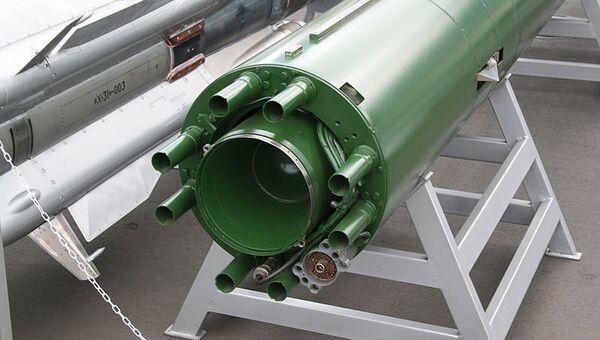Подводная ракета Шквал (вид сзади). Архивное фото
