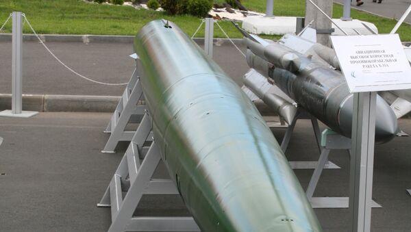 Подводная ракета Шквал-Э