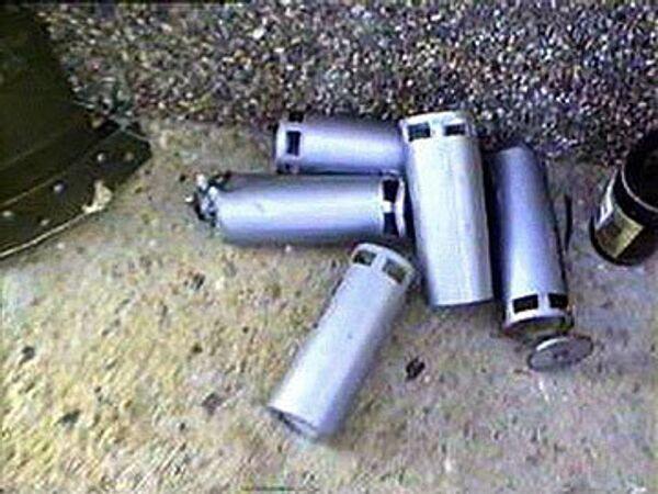 Кассетная бомба, архивное фото