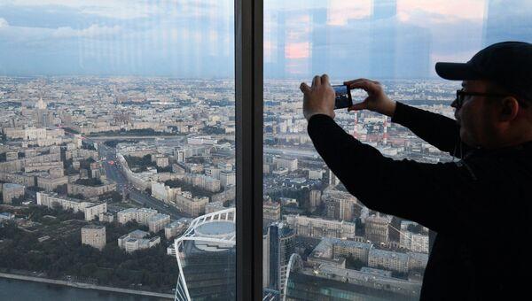 Самая высокая смотровая площадка Европы готовится к открытию в Москве
