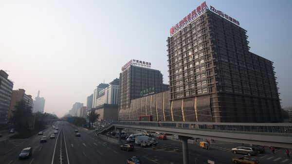 Улица Фуксинг в Пекине. Архивное фото