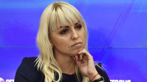 И.о. председателя Украинской общины Крыма Анастасия Гридчина