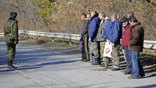 Обмен пленными между ЛНР, ДНР и Украиной. Архивное фото