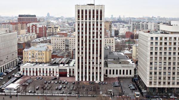 Здание Министерства Юстиции России по адресу улица Житная, 14.