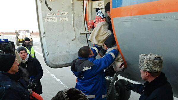 Выжившую при крушении L-410 девочку доставили в Хабаровск