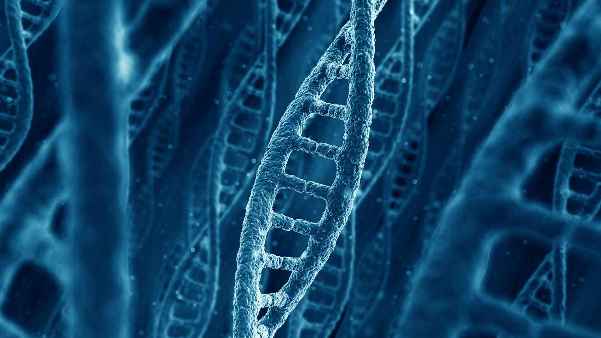 Молекулы ДНК - РИА Новости, 1920, 21.12.2020