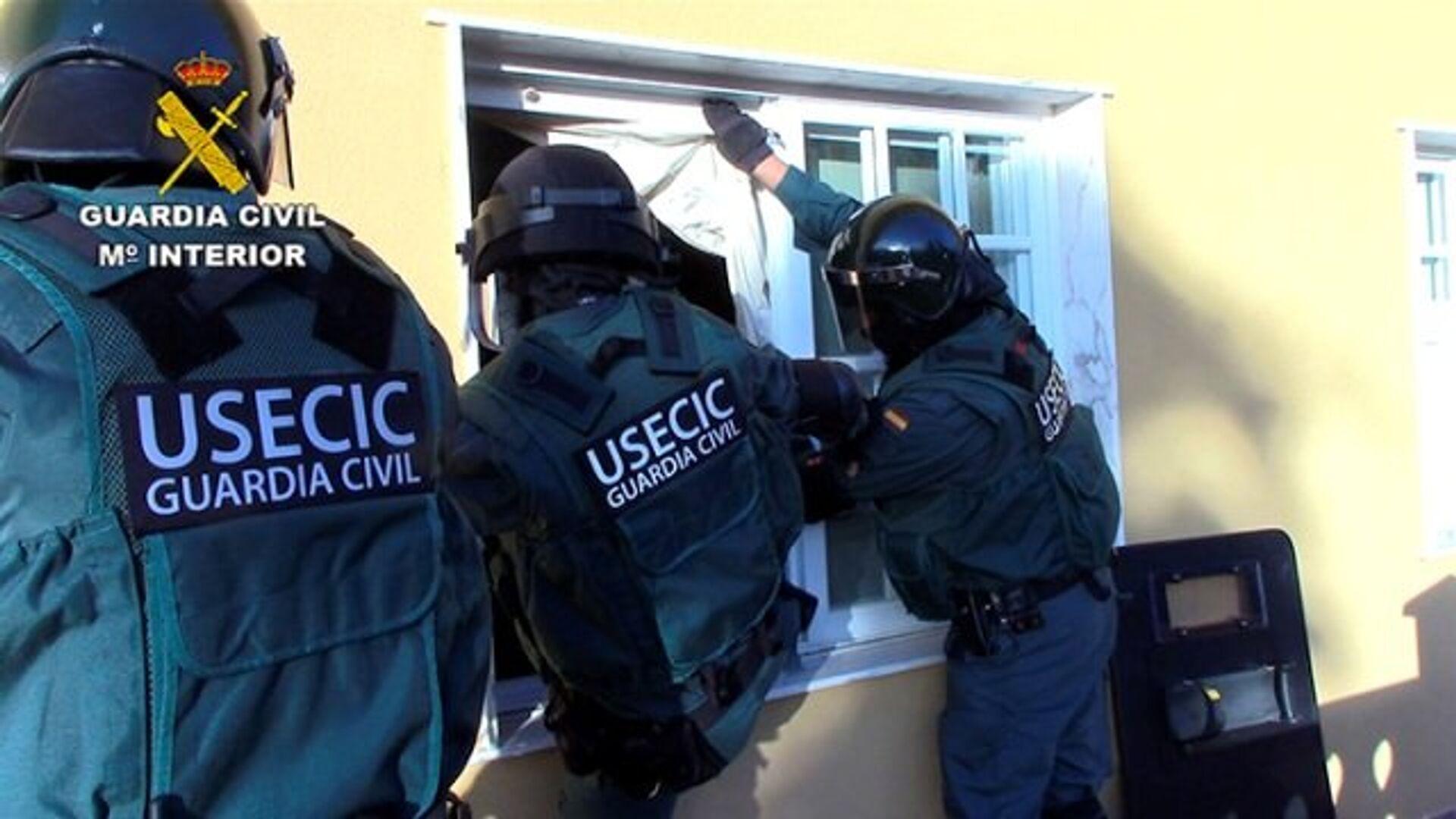 Национальная полиция Испании разоблачила деятельность группировки по торговле наркотиками - РИА Новости, 1920, 20.12.2020