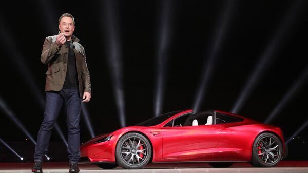 Глава компании Tesla Илон Маск. Архивное фото