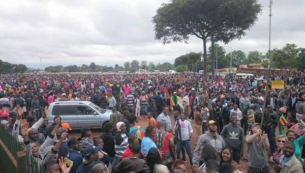 Ситуация в Зимбабве. Архивное фото