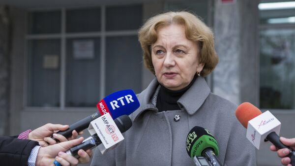 Председатель Партии социалистов республики Молдова (ПСРМ) Зинаида Гречаная
