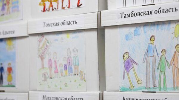 Коробки с собранными в регионах подписями за запрет абортов