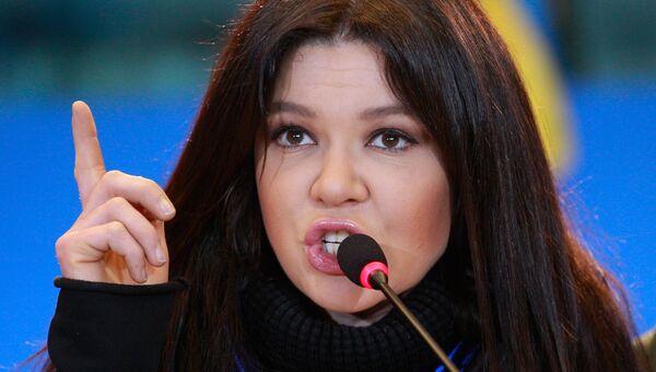 Певица Руслана. Архивное фото