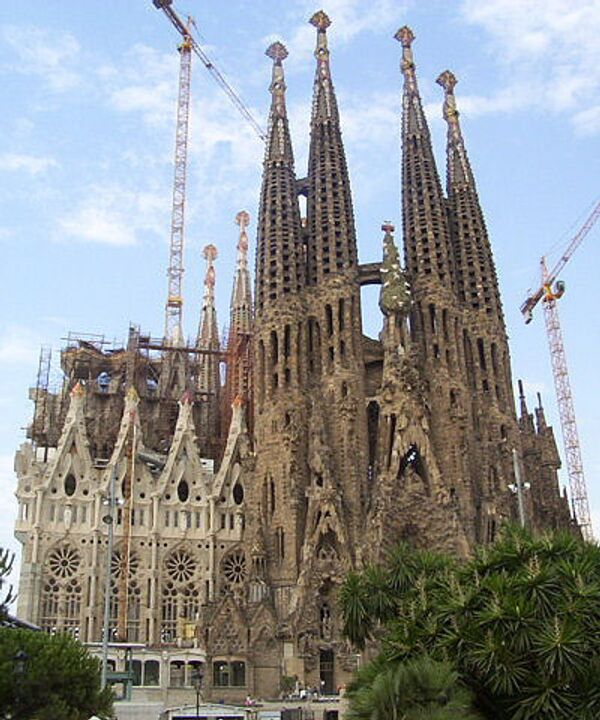 Собор Святого Семейства - Sagrada Familia