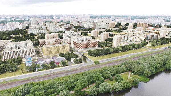 Концепция площадки реновации в районе Цирицыно от ТПО Резерв