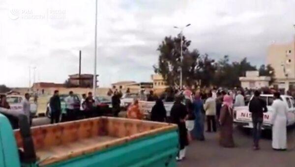Террористы атаковали мечеть на Синае. Кадры с места ЧП