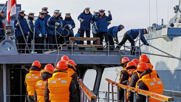Прибытие миноносца Хамагири во Владивосток