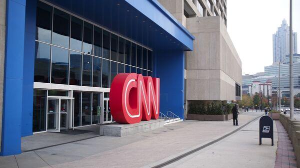 Здание телеканала CNN в Атланте