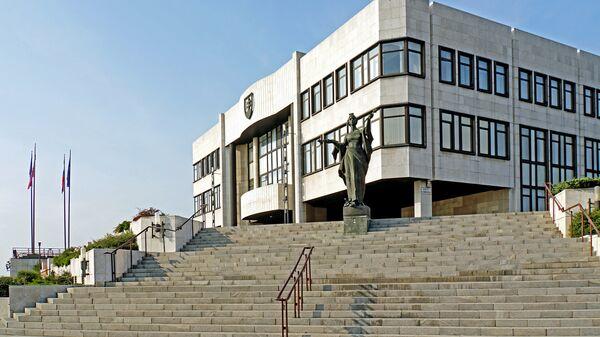 Здание Национального совета Словацкой Республики. Архивное фото