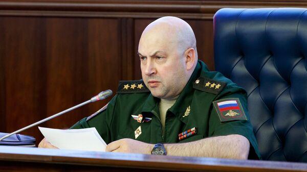 Генерал-полковник Сергей Суровикин. Архивное фото