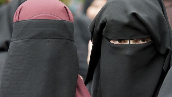 Мусульманские женщины . Архивное фото