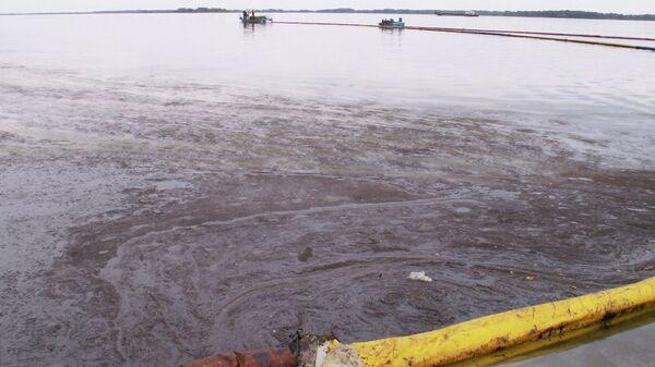 Очистка Волги от нефтепродуктов