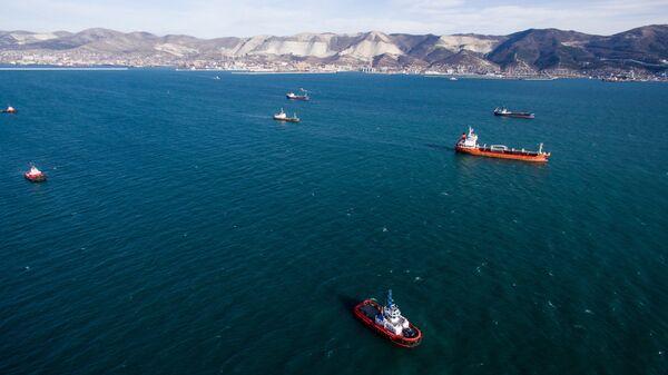 Корабли в Черном море