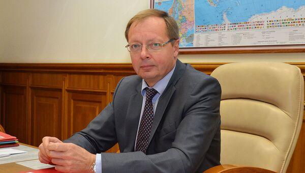 Директор Департамента общеевропейского сотрудничества МИД РФ Андрей Келин