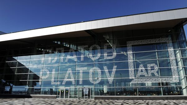 Открытие аэропортового комплекса Платов в Ростове-на-Дону