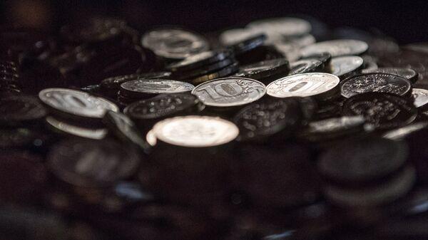 Десятирублевые монеты