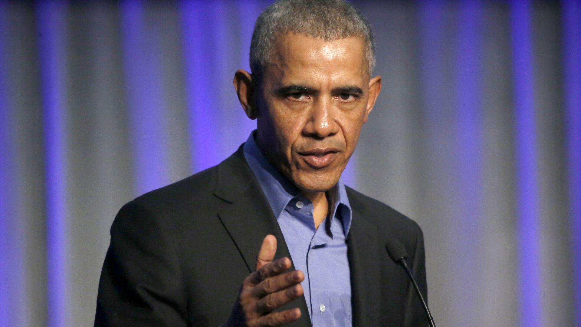 Бывший президент США Барак Обама - РИА Новости, 1920, 03.12.2020