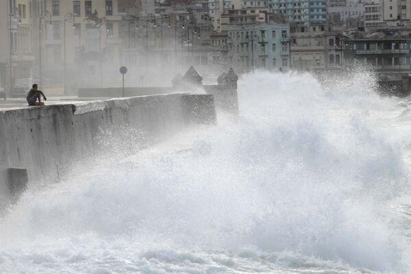 Ураган Айк на Кубе. Архив