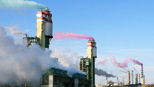 Выбросы от заводов