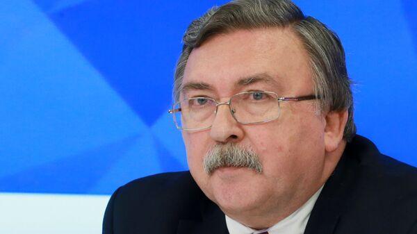 Член коллегии Министерства иностранных дел Российской Федерации, директор Департамента по вопросам нераспространения и контроля над вооружениями МИД России Михаил Ульянов