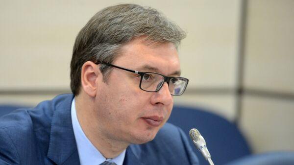 Президент Сербии Александр Вучич
