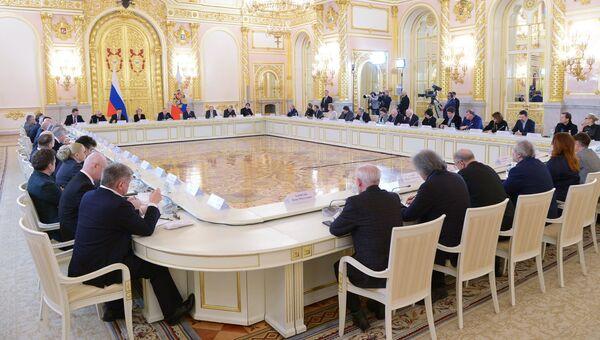 Заседание Совета по культуре и искусству. 21 декабря 2017