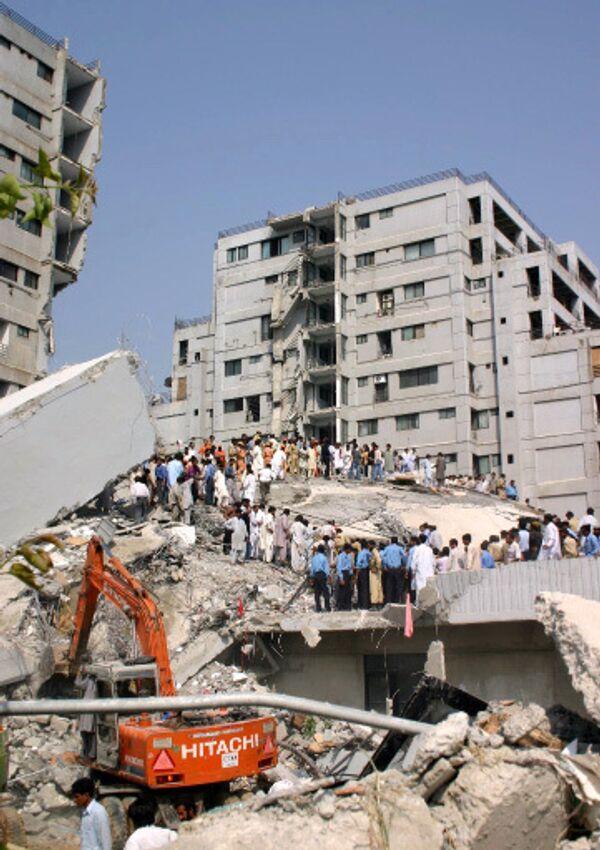 Землетрясение. Архив