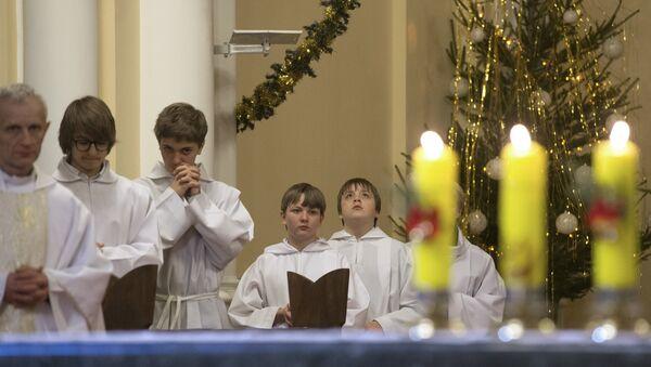 Празднование Рождества в Москве