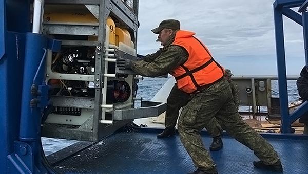 Специалисты ВМФ России принимают участие в поисках подводной лодки Сан-Хуан ВМС Аргентины. Архивное фото