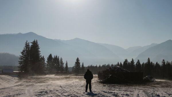 Село Катанда в Усть-Коксинском районе Республике Алтай