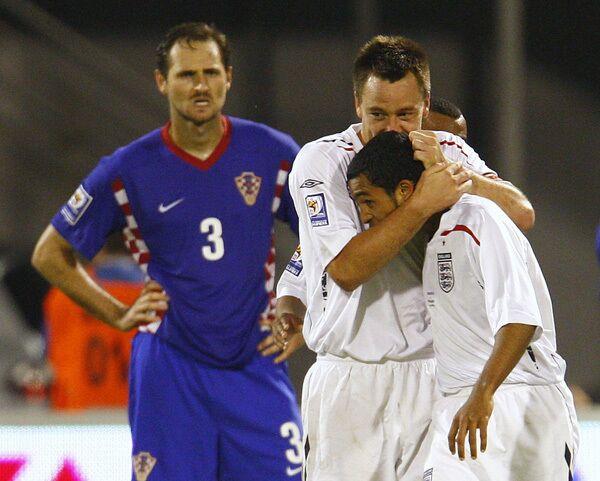 Отборочный этап ЧМ-2010. Сборная Англии - Сборная Хорватии
