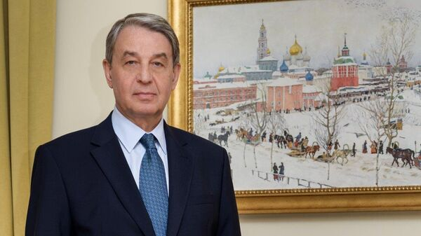 Посол РФ в Ватикане Александр Авдеев. Архивное фото