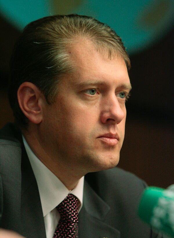 Руководитель Федерального агентства воздушного транспорта Евгений Бачурин