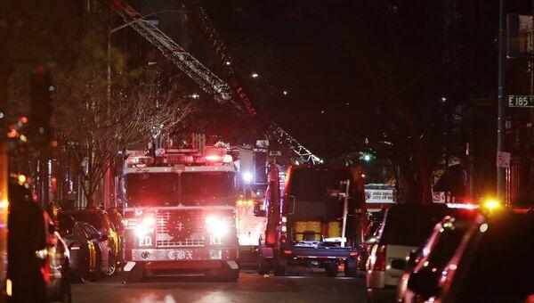 Пожар в Нью-Йорке. 28 декабря 2017 года