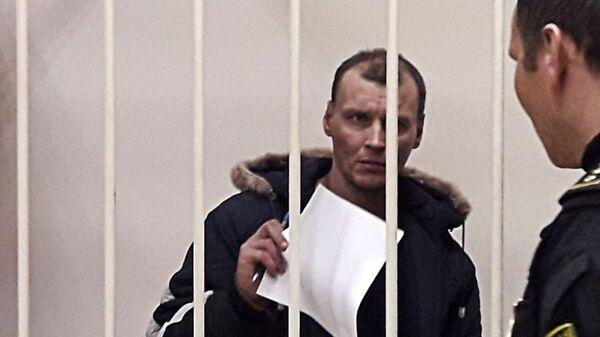Дмитрий Лукьяненко, обвиняемый в организации взрыва в магазине Перекресток на Кондратьевском проспекте