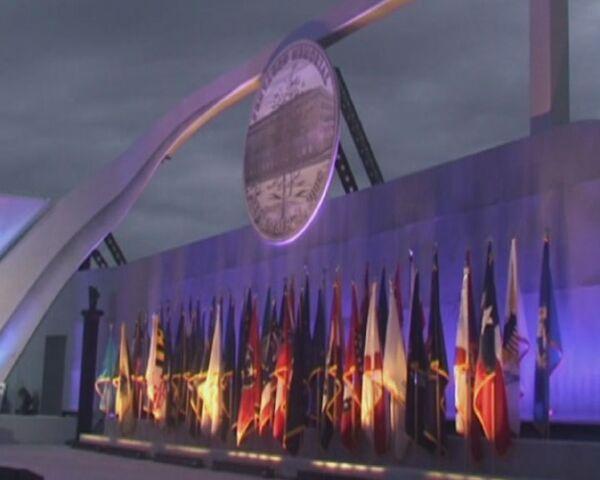 У стен Пентагона вспоминали жертв теракта 11 сентября