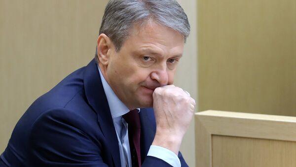 Министр сельского хозяйства РФ Александр Ткачёв. Архивное фото